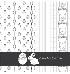 set seamless pattern for Esstern Hand drawn vector image