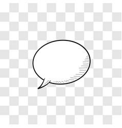 Simple dialogue box white colour vector