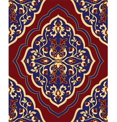 Template for oriental carpet vector