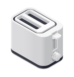 Toaster detailed isometric icon vector image