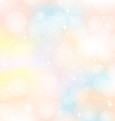 Abstract background colorful sweet vector image vector image