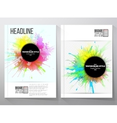 Abstract circle black banners with place for text vector image