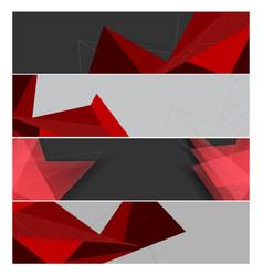 Modern banners templates vector