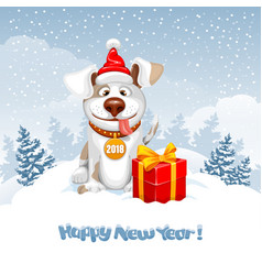 New year greeting vector