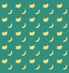 Seamless abstract pattern with bananas vector
