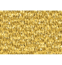 Gold glitter luxury texture Seamless pattern vector image vector image