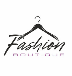 fashion boutique vector image