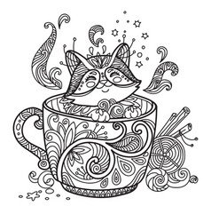 Cute Kawaii Animals Coloring Pages Vector Images Over 490