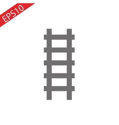 ladder icon ladder on white background vector image
