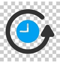 Restore Clock Icon vector
