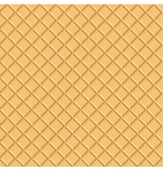 Seamless waffle pattern background eps 10 vector