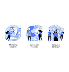 targeting strategy abstract concept vector image