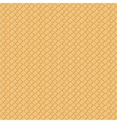 Seamless waffle pattern background eps 10 vector image