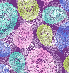 soft paisley vector image vector image