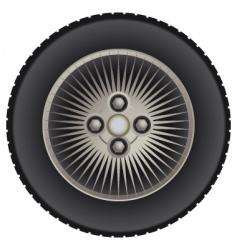 Car mag wheel vector