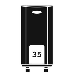 boiler icon simple style vector image