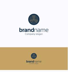 Brand name logo vector