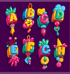 Children font vector