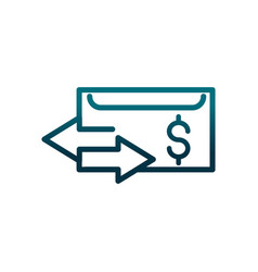 economy business money exchange trade gradient vector image