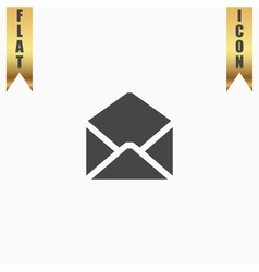 Envelope Mail icon Flat design style vector image