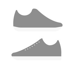 Gumshoes flat vector