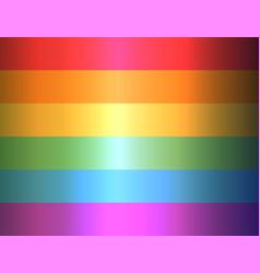 love is love flag lgbt community on flagstaff vector image