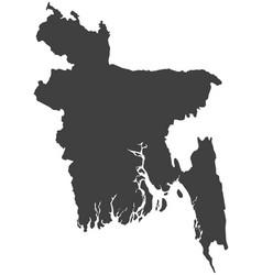 Map bangladesh vector