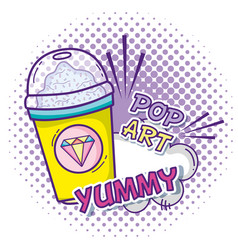 pop art cartoons concept vector image
