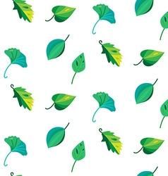 Vintage leaves seamless pattern vector