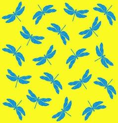 dragonflyPattern vector image