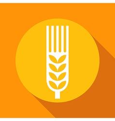 grain sign 1 vector image