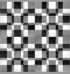 Abstract mosaic pattern with fade effect vector