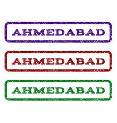 Ahmedabad watermark stamp vector