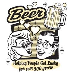 Beer humor vector image