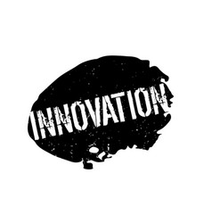 Innovation rubber stamp vector