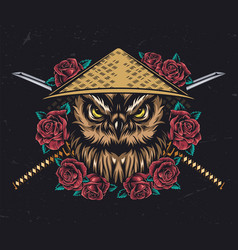 Japanese style tattoo vintage concept vector