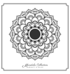 Mandala-82mandala decorative ornament design vector