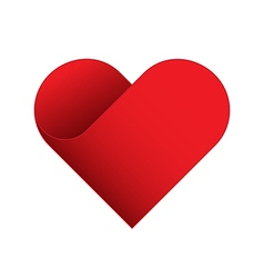 Red Heart symbol vector