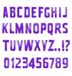 Sans serif vector
