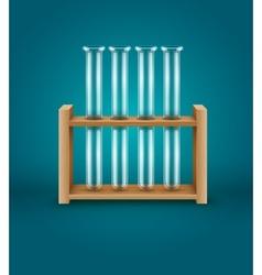 Test-tubes for medical vector image