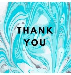 Thank you hipster boho background vector