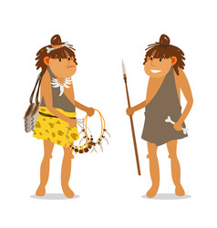 Young ancient girls vector