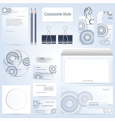 abstract corporate style vector image