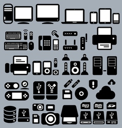 Computers and Peripherals vector image