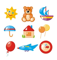 childrens set vector image vector image