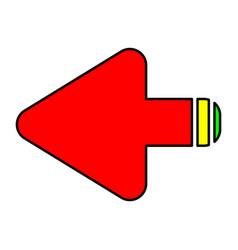Arrows round vector