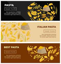 Best italian pasta of high quality promotional vector