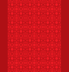 classic oriental pattern vector image