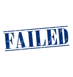 Failed vector