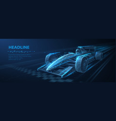 formula one f1 abstract 3d f 1 bolide vector image